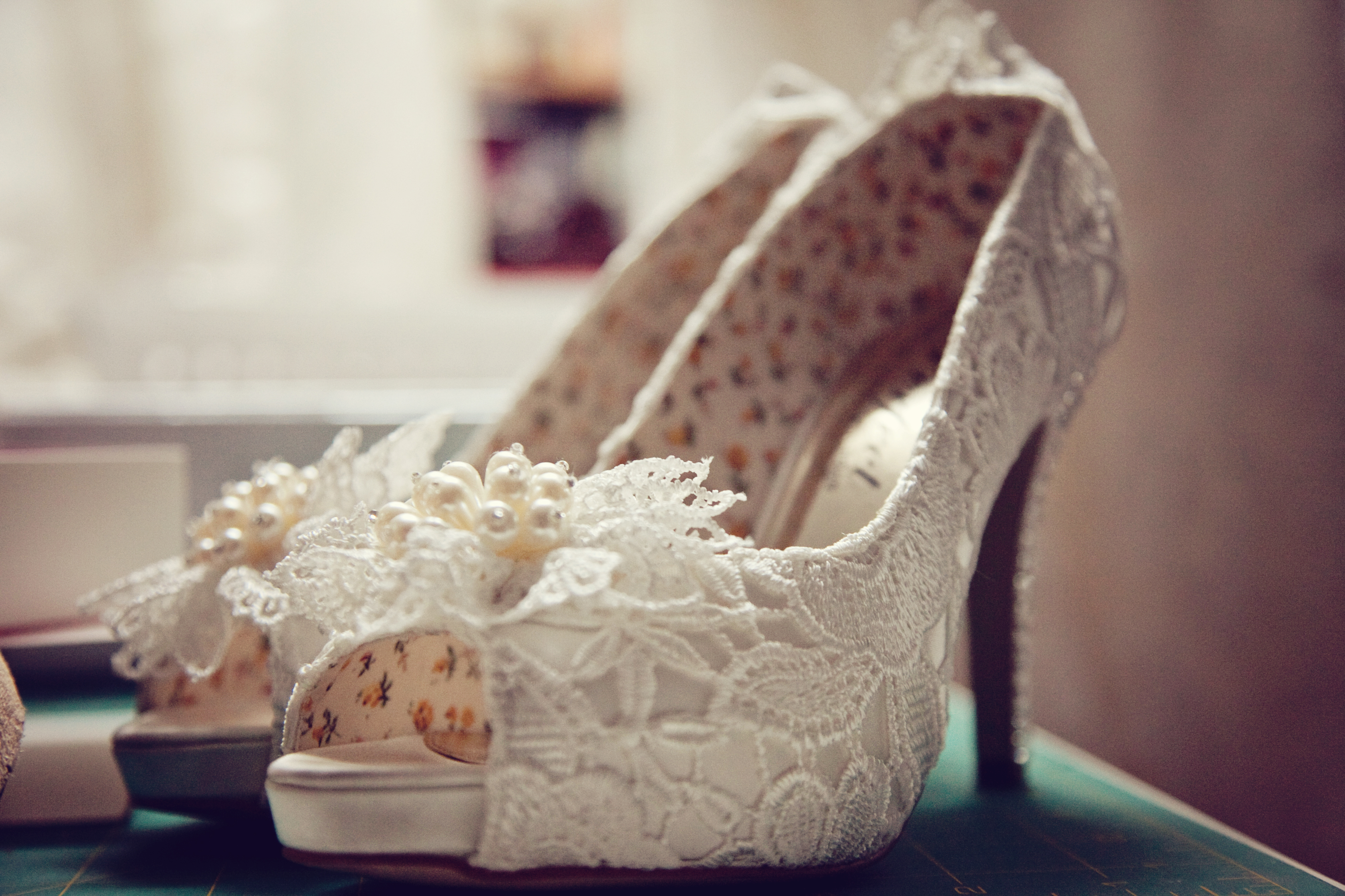 Lace Shoes | Imprint Weddings | Toronto