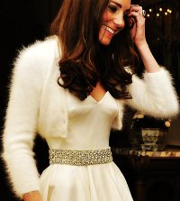 We can thank the Duchess for the wedding sweater trend.