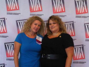 WPIC Founders Tracey Manailescu and Danielle Andrews Sunkel at Wedding MBA 2012